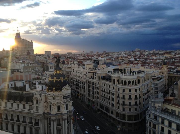 Vistas al edificio Metropolis