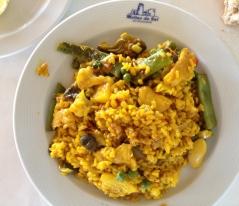 Otro arroz, ya en plato