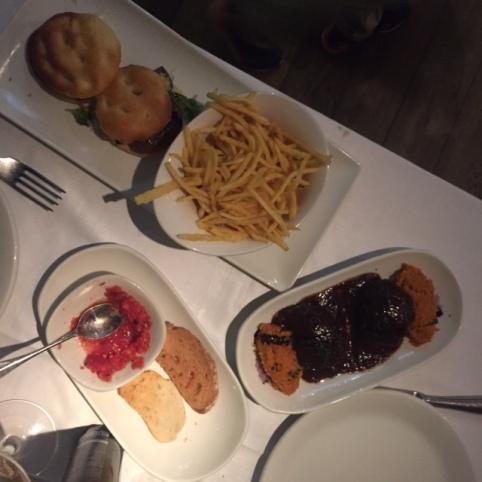 Minihamburguesa de Rabo de Toro