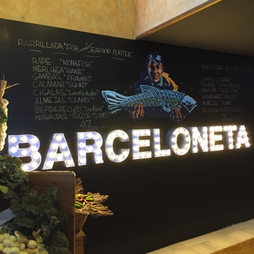 Entrada al Barceloneta