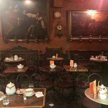 Interior del Caffe Reggio