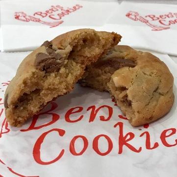 Cookie de mantequilla de cacahuete y chocolate