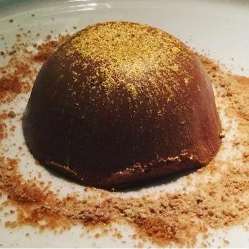 Montaña de chocolate.