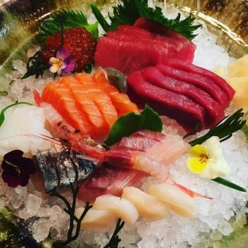 Sashimi variado.