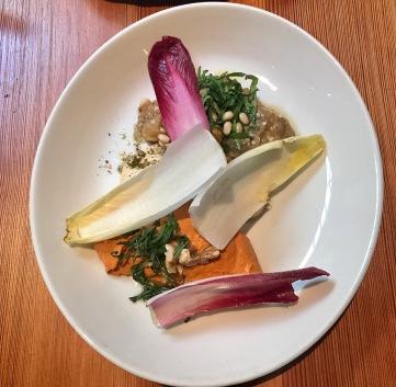 Salsas: hummus, berenjena y cabneh