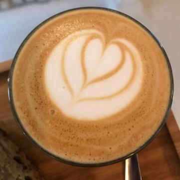 Latte del Ruda Café.