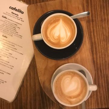 latte + cappuccino